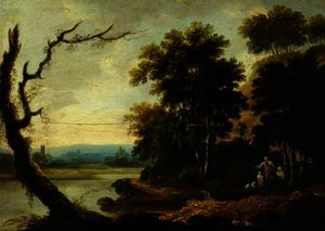 Richard Wilson - Landscape with a Church