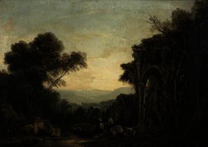Richard Wilson - Landscape with Ruins