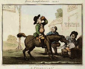 Thomas Rowlandson - Horse accomplishments