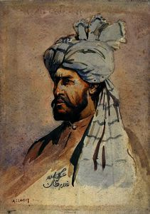 Alfred Crowdy Lovett - Soldier of the Kurram Militia