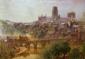 Alfred William Hunt - Elvet bridge