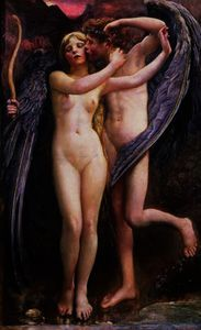Annie Louise Swynnerton - Cupid and Psyche