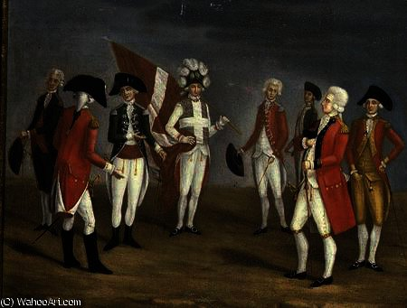 High Ranking Military Officers of Malta by Antoine De Favray (1706-1798, France)