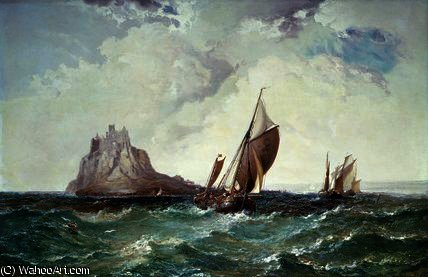 St. michael's mount, cornwall by Arthur Joseph Meadows
