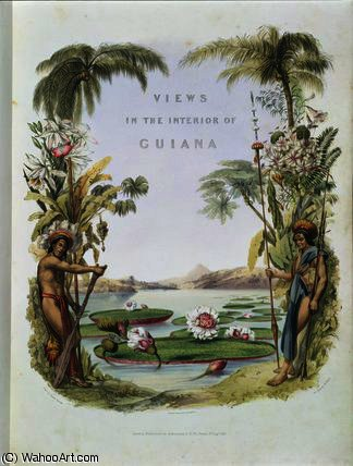 Frontispiece to 'Views in the Interior by Charles Bentley (1805-1854, United Kingdom)