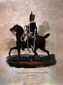 Charles Hamilton Smith - A Private of the 18th Light Dragoons from