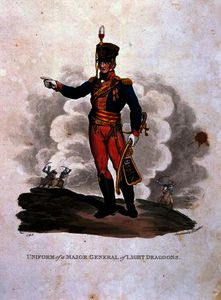 Charles Hamilton Smith - Uniform of a Major General of Light Dragoons