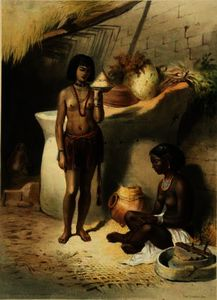 Émile Prisse D-avennes - Nubian Women from the Kanoosee Tribe