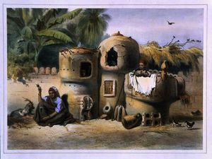 Émile Prisse D-avennes - Peasant Dwellings in Upper Egypt