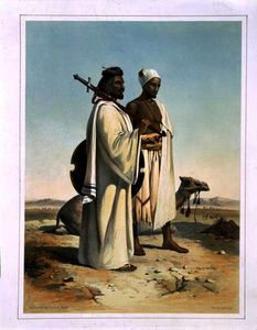 Émile Prisse D'avennes - The Ababda, Nomads of the Eastern Thebaid Desert