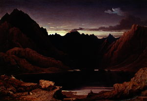 George Fennel Robson - Loch Coruisk, Isle of Skye - Dawn, c.1826 - (32)