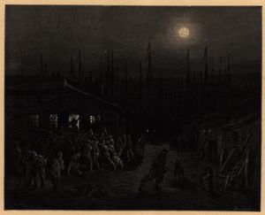 Paul Gustave Doré - London docklands