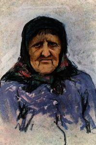 Harold Copping - Study of a Doukhobor woman