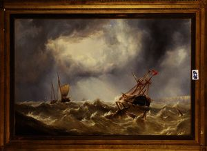 Henry Redmore - Dismasted in a Storm off the Kent Coast
