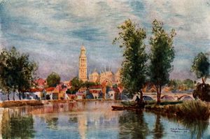 Herbert Menzies Marshall - Perigueux from the River