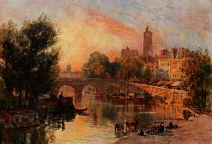 Herbert Menzies Marshall - The pont marie, paris