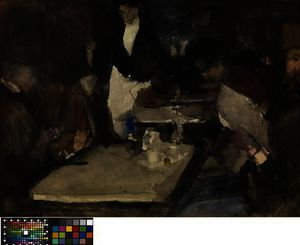 Isaac Israels - Restaurant -Mille Colonnes