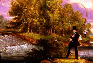 James Pollard - Trout Fishing on the Lea