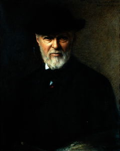 Jean Jacques Henner - Portrait of Jean-Jacques Henner