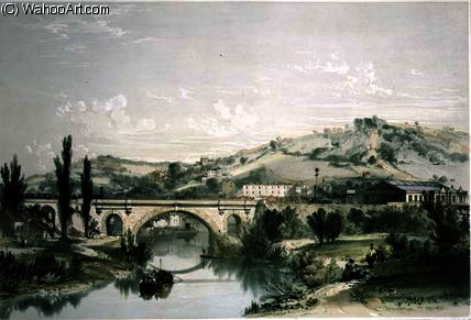 St. James' Bridge and Station by John Cooke Bourne (1814-1896, United Kingdom)