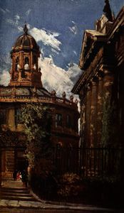 John Fulleylove - The Sheldonian Theatre and Old Clarendon Buildings