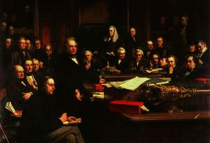 John Phillip - Lord Palmerston Addressing the House of Commons