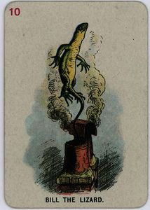 John Tenniel - Bill the Lizard