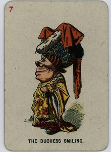 John Tenniel - The duchess smiling