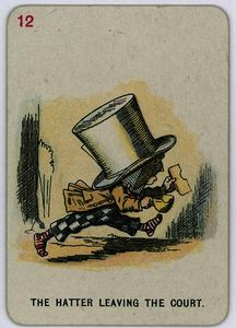 John Tenniel - The Hatter leaving the Court