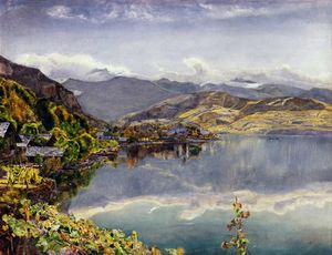 John William Inchbold - The Lake of Lucerne