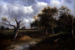 Joseph Thors - Landscape with Dying Tree