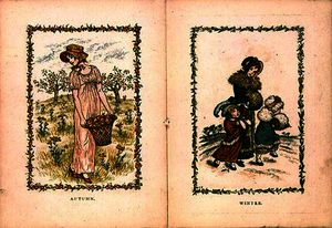 Kate Greenaway - Autumn and Winter
