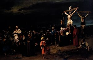 Mihaly Munkacsy - Christ on the Cross