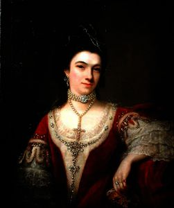 Nathaniel Hone - Portrait of Jane Roberts, Duchess of St Albans
