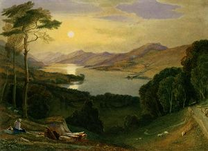 Samuel Jackson - Lake windermere