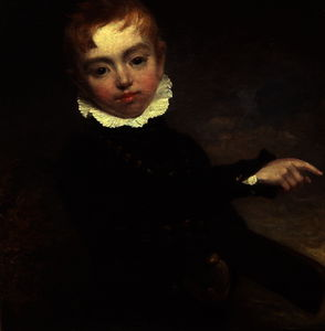 William Beechey - Boy with a Cricket Bat