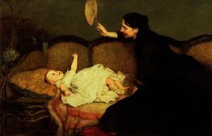 William Quiller Orchardson - Master baby
