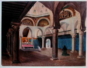 Theodore Leblanc - Interior of a Mosque Converted into a Bishop-s Palace