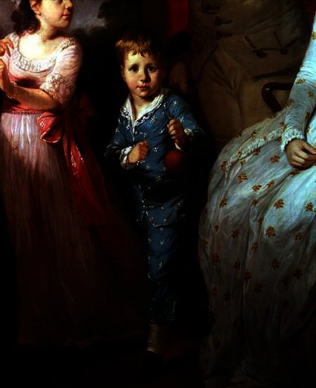 Thomas William Fortnom, holding an orange by Tilly Kettle (1735-1786, United Kingdom) | Painting Copy | WahooArt.com