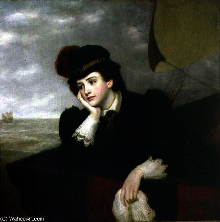 Mary Stuart returning from France by William Powell Frith (1819-1909, United Kingdom)