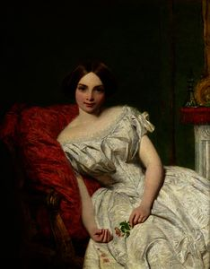 William Powell Frith - Portrait of Annie Gambart