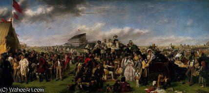 The derby day by William Powell Frith (1819-1909, United Kingdom)