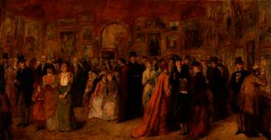 William Powell Frith - The private view