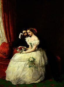 William Powell Frith - The proposal