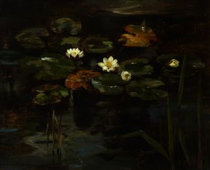 William Stewart Macgeorge - Water lilies