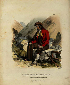 Charles Duffield Harding - A Paysan of the Valley of Ossau