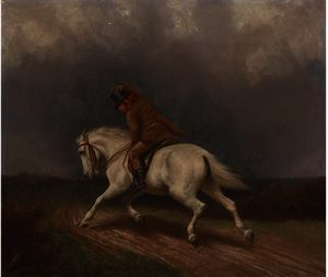 Francis Calcraft Turner - Riding into the storm