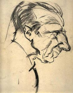 Arthur Lismer - Portrait of Eric Brown
