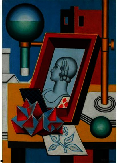 Anachronisme by Jean Dominique Antony Metzinger (1883-1956, France)