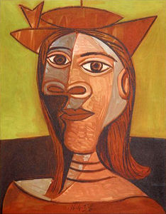 Pablo Picasso - Woman with Hat (Dora Maar)
